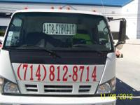 2007 FLAT BED TOW TRUCK MILES 230.00 AUTOMATIC A/C