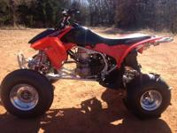 Very Nice! 2007 TRX 450 it has been well taken care of