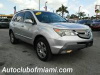 Options:  2007 Acura Mdx Sh Awd 4Dr Suv|Silver|All Of