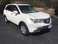 Options:  2007 Acura Mdx 4Wd 4Dr Tech Pkg|This 2007