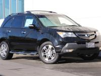 This 2007 Acura MDX has been well maintained and has a