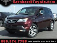 We are pleased to offer you this 1-OWNER 2007 ACURA MDX