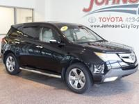 New Price! 2007 Formal Black Acura MDX CHECK