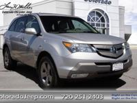 Our Accident-Free 2007 Acura MDX All Wheel Drive with
