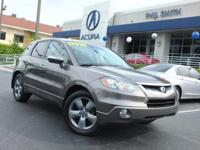 Outstanding design defines the 2007 Acura RDX!  This is