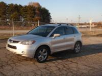 Options:  2007 Acura Rdx Tech Pkg Awd 4Dr