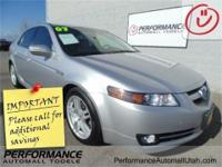 2007 Acura TL 3.2 and 3.2L V6 SOHC VTEC 24V. Moon Roof!