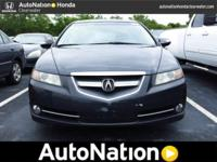 2007 Acura TL. Our Place is: AutoNation Honda
