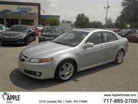 Recent Arrival! CARFAX One-Owner.  2007 Acura TL 3.2