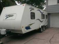 2007 Zoom by Aerolite Travel Trailer style camper. Nice