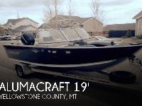 - Stock #080562 - This Alumacraft 185 Trophy is