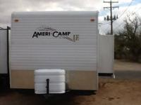 This Ameri-Camp trailer is a fantastic trailer and has