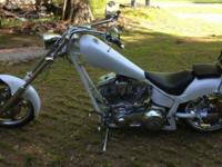 Immaculate condition chopper , very low miles , around