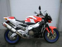 2007 Aprilia Tuono 1000 R WHITE AND RED ONLY 11213