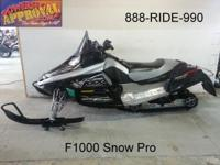 2007 Arctic Cat F1000 Snow Pro Snowmobile for sale with