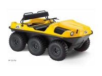 Six-wheel drive amphibious off-road vehicle WITH