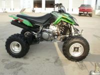 2007 Artic Cat DVX 400, Green, Reverse. Same as Suzuki