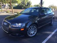 2007 Audi A3 2.0 Turbo S-Line with LOW MILES! This may