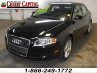 Options Included: N/A** This 2007 Audi A4 has brand new
