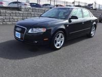 QUATTRO. 2.0 Liter Turbo. Automatic Transmission. Black