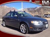 2007 Audi A4 4dr Car 2.0T Our Location is: Elk Mountain