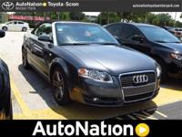 This 2007 Audi A4 comes with a CARFAX Buyback