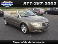 AUDI A4 CABRIOLET GIVE US A CALL AT    PRICE:  $15,000