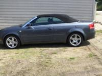 2007 Audi A4 Cabriolet Quattro Convertible. 1 owner,