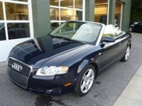This 2007 Audi A4 Quattro Convertible with 69,000 miles