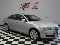 This 2007 Audi A6 4.2 L is offered exclusively by
