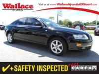 2007 AUDI A6 SEDAN 4 DOOR 4dr Sdn 3.2L FrontTrak Our