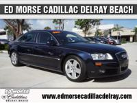 This 2007 Audi A8L exudes class.    Neatly tailored
