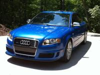Up for sale 2007 Audi S4! This beautiful vehicle is