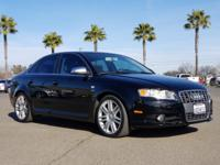 This S4 is hot! With just 77,316 miles, this car is