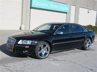 1-owner-S8 Quattro-AWD-V 10.Comes with a lot of