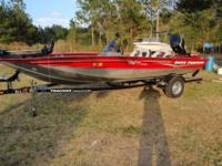 THIS NICE 2007 BASS TRACKER PRO TEAM 175 TXW COASTAL