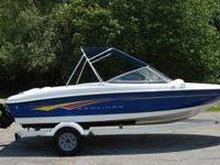 This is a super clean Bayliner for sale, by the