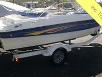 2007 Bayliner 185 The largest 18' runabout interior in