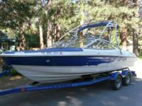 2007 BAYLINER BOW RIDER ,SKI TOWER AND LARGE SWIM DECK,