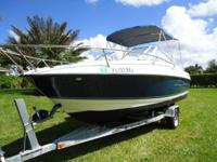 2007 Bayliner Discovery 192 Runabout Cuddy Cabin