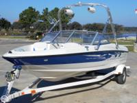Excellent starter boat for the family. Fish, ski or