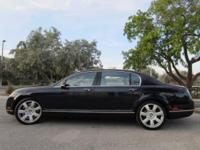 This 2007 Bentley Continental Flying Spur Mullener has