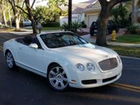 This Bentley Continental GTC is one of the lowest