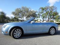 This 2007 Bentley Continental GTC Convertible has an