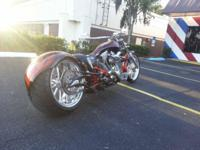 Custom made Stainless Steel Exhaust Custom Paint Ported