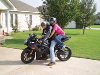 Description Here is a Black 2007 Suzuki GSX-R600. I