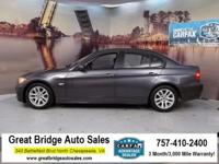 2007 BMW 3 Series CARS HAVE A 150 POINT INSP, OIL
