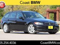 Options:  2007 Bmw 3 Series 328I|Black|Premium Package
