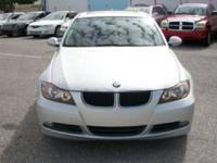 SUPER CLEAN 2007 BMW 328I WITH 73K MILES. GUARANTEED