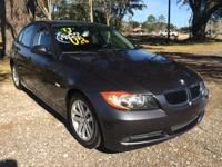 Fully deserving of its popularity. the 2007 BMW 3